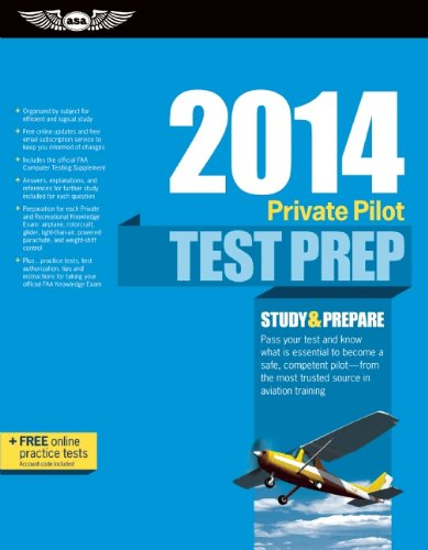 Private Pilot Test Prep 2014 Study Prepare For Recreational And